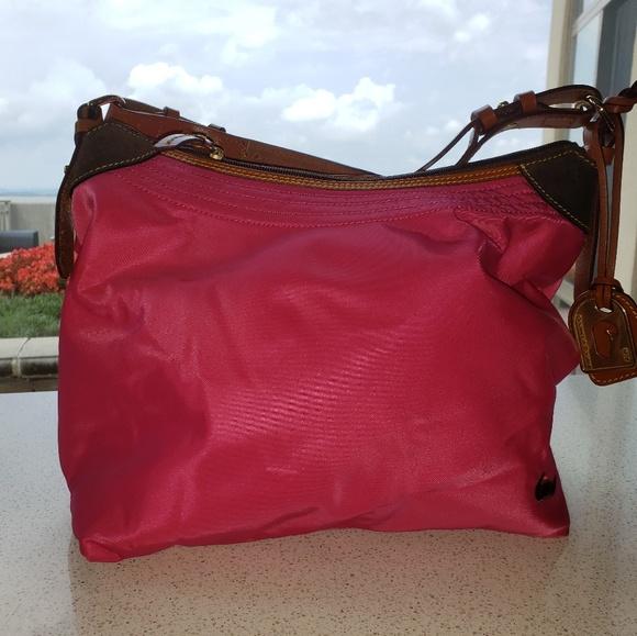 Dooney & Bourke Handbags - Dooney & Bourke Erica Sport Sac Large Nylon Hobo